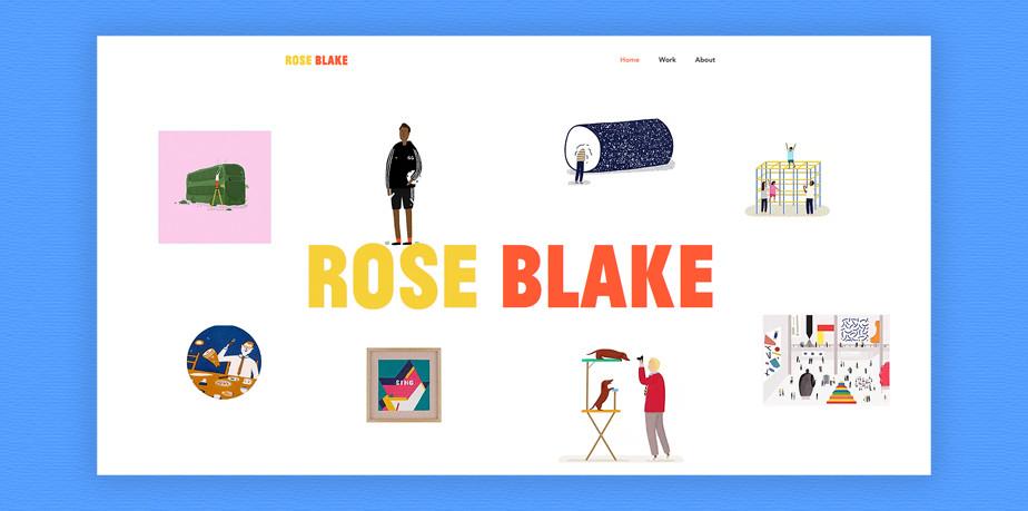 Rose Blake illustration portfolio