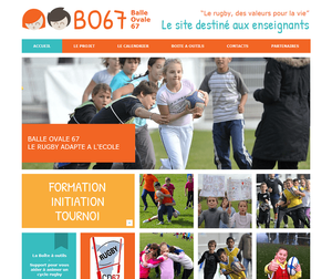 Site Balle Ovale 67