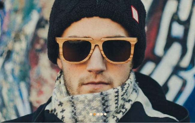 Деревянные солнечные очки от FunnyBox