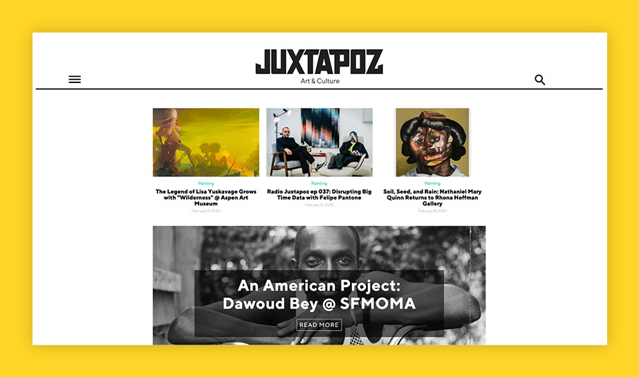 Best art blogs - Juxtapoz