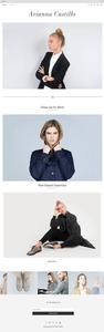 шаблон для блога стилиста