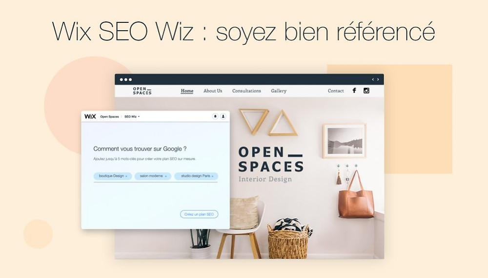 Soyez bien référencé sur Google avec le Wix SEO Wiz