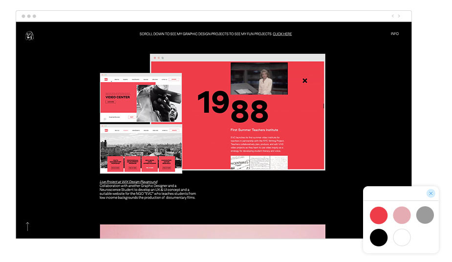 Página Web Wix de Ester Mejibovski