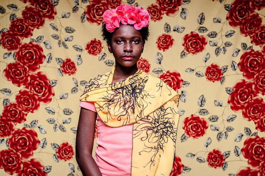 portrait of a girl dressed as frida kahlo by wix photographer camila fontenele