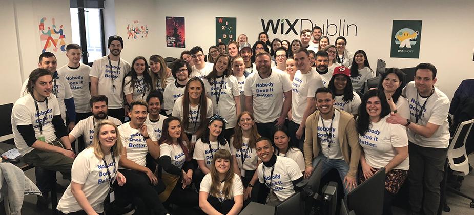 Wix Dublin werknemers