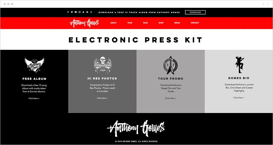 Ejemplo de EKP -kit de prensa electrónico