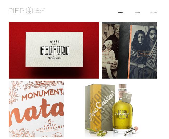 Pier Agence de design Branding Packaging Retail