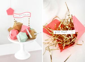 Idée de cadeau fête des mères : origami
