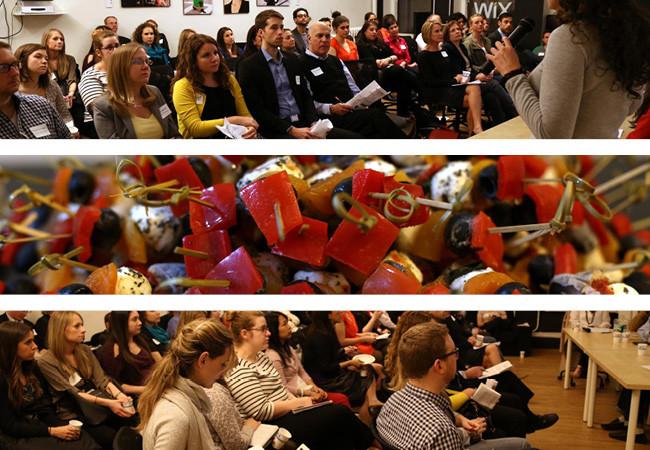 Encuentro sobre Medios Sociales para Negocios de Alimentos en el Salón Wix. Foto por Galo Delgado