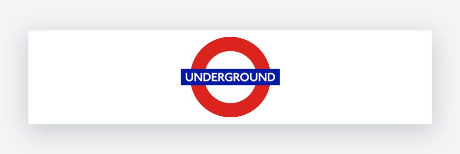 logo underground - métro de Londres