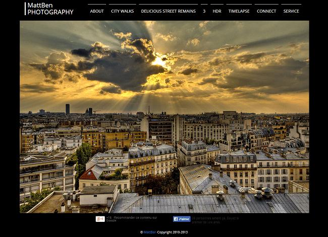 Site : MattBen Photography