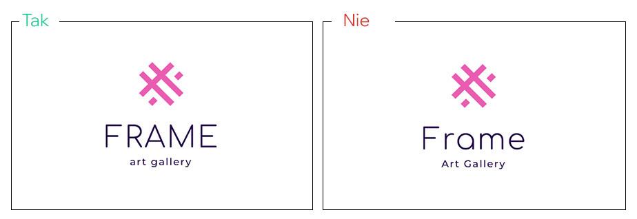 Połącz wielkie i małe litery, aby zrównoważyć swój projekt