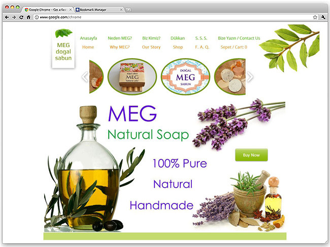 Meg Natural Soap