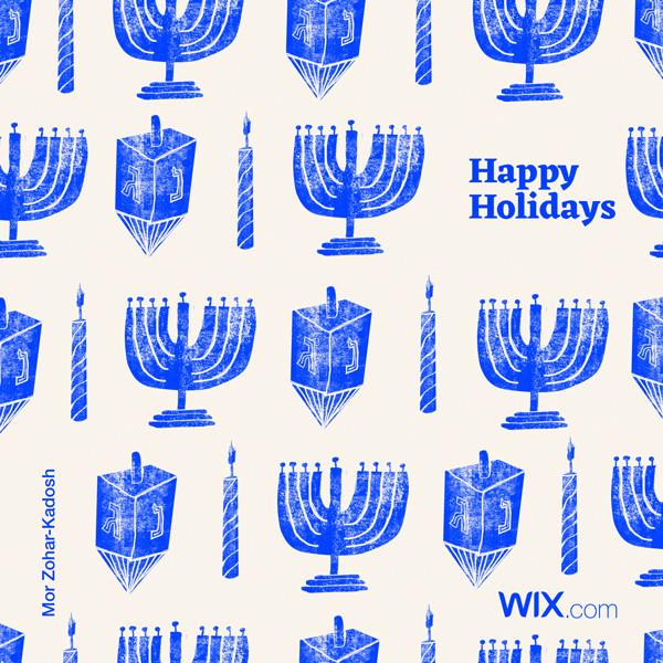 Online greeting card design by Mor Zohar-Kadosh
