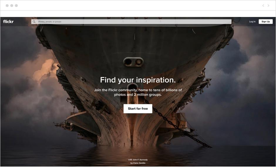 Darmowy hosting zdjęć - flickr