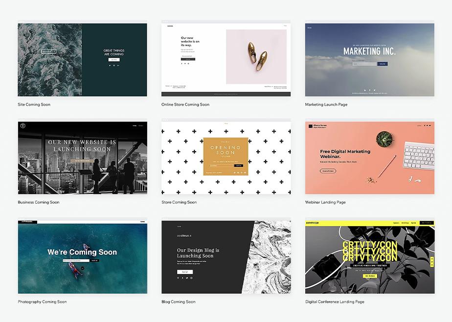 Diversi tipi di landing page per diversi siti