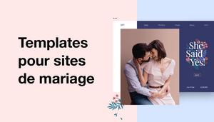 Templates pour sites de mariage