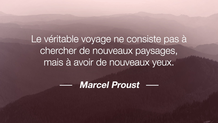 Citation Marcel Proust