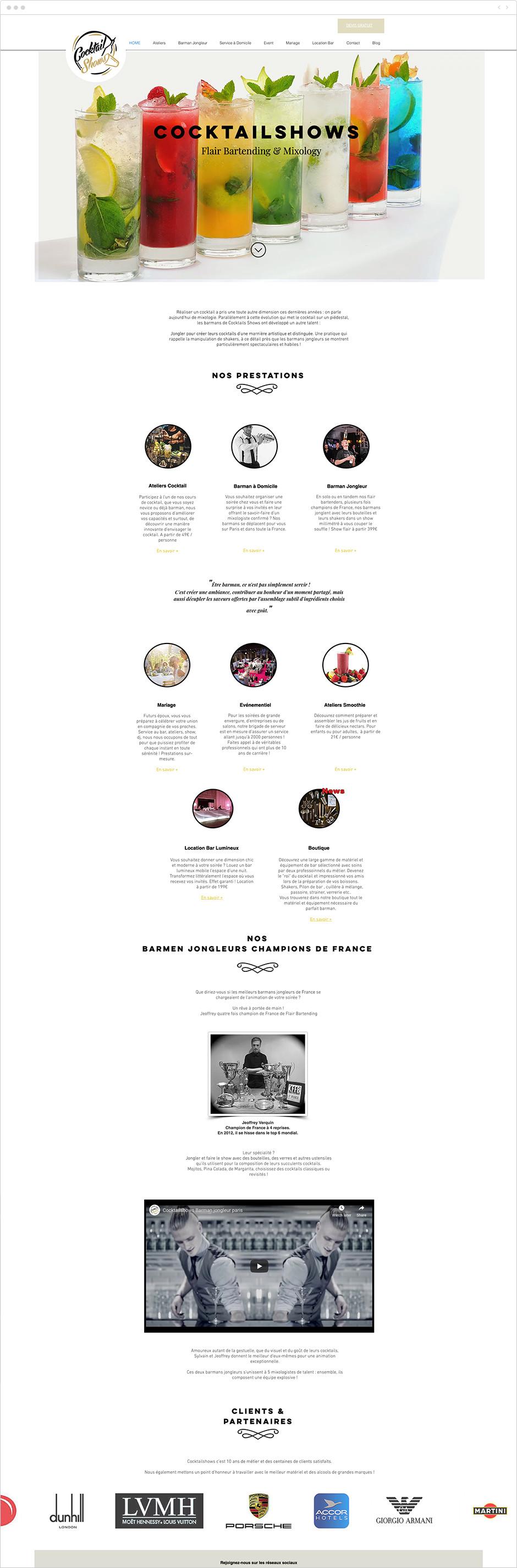 Dossier de presse - atelier de coktails