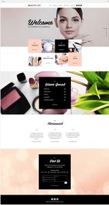 Site Wix Template Salon Beauté Maquillage Ongles