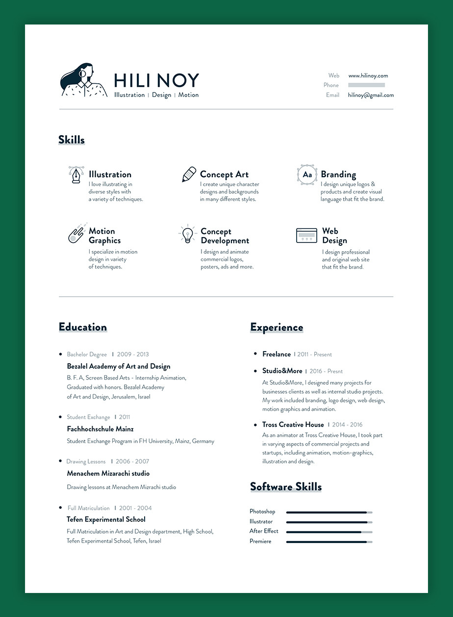 Graphic Design Resume Examples And Tips For Creating Your Own