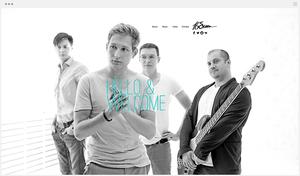 сайт Wix Music
