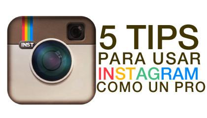 Logo de Instagram + 5 Tips para usar Instagram como un pro