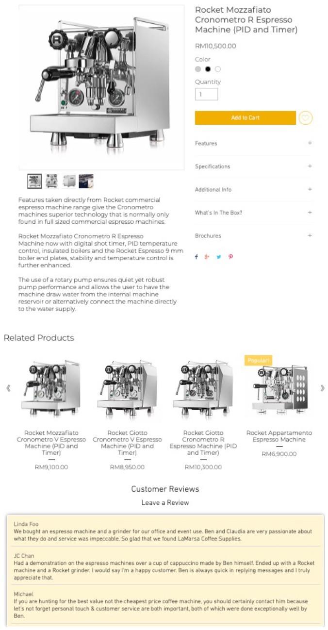 Ejemplos de reseñas en tiendas online