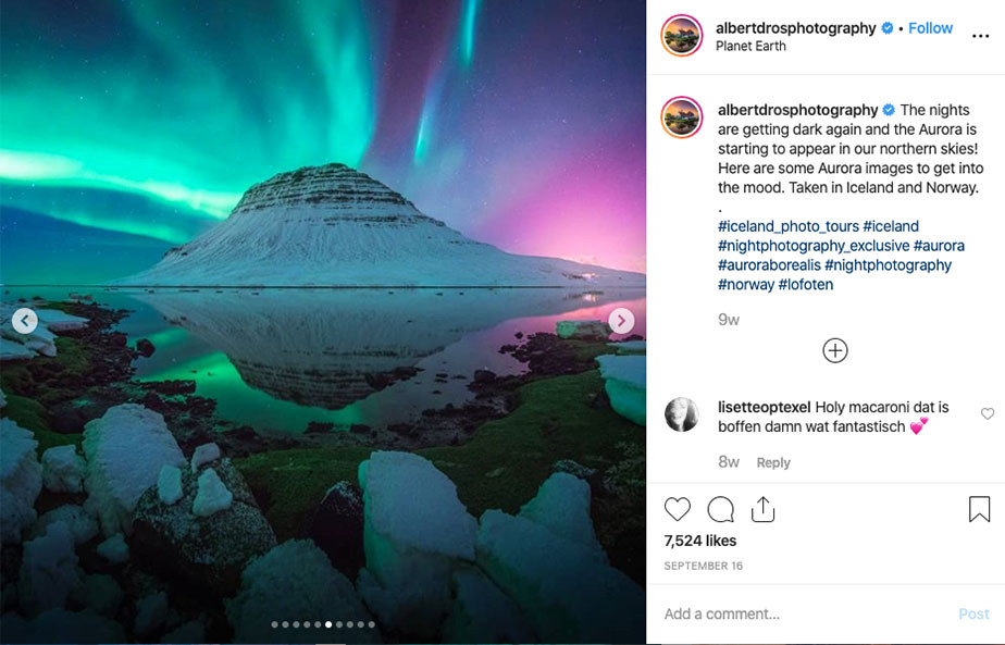 instagram for photographers geolocation