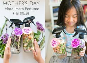 idée de cadeau fête des mères : parfum floral