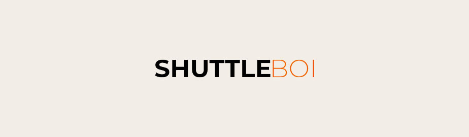Shuttle Boi Logo als Beispiel für ein modernes Logodesign