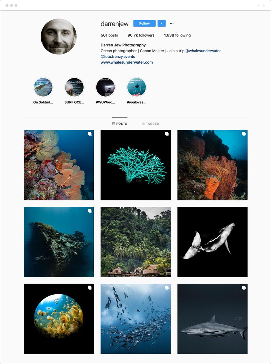 Darren Jew - Photographes à suivre sur Instagram