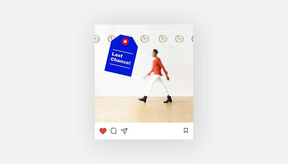 """""""Last change"""" Instagram template"""