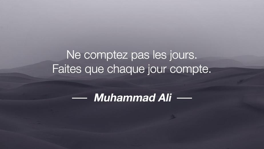 Citation Muhammad Ali