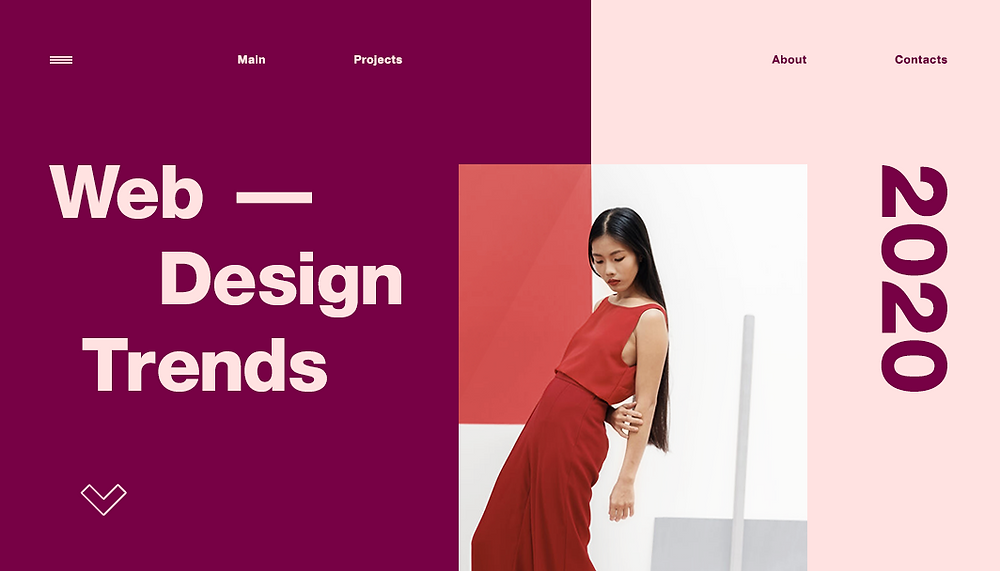 Веб-дизайн: 10 трендов 2020