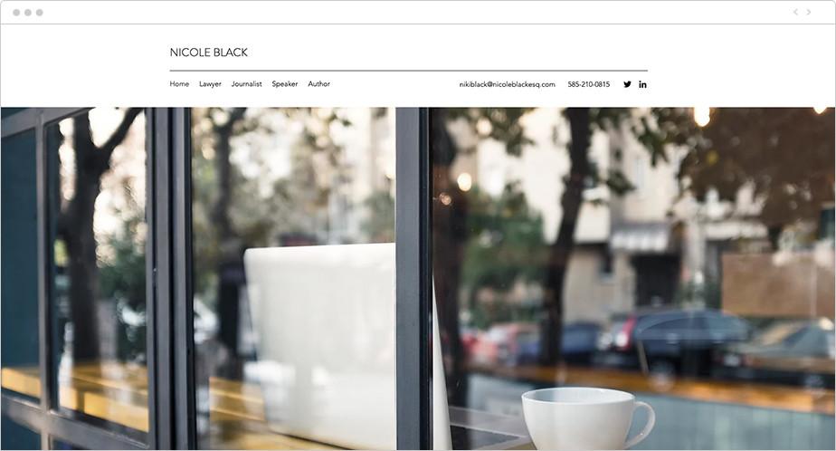 Best law firm websites Nicole Black