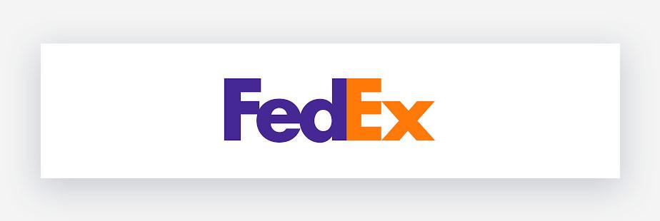 Esempio di logo Fedex