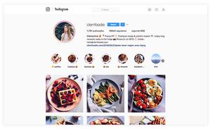 compte Instagram d'un influenceur