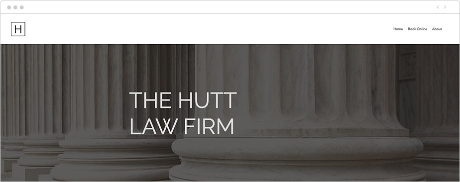 Best law firm websites The Hutt Law Firm