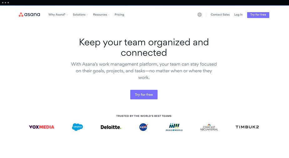 Asana - aplikacja do zarządzania projektami