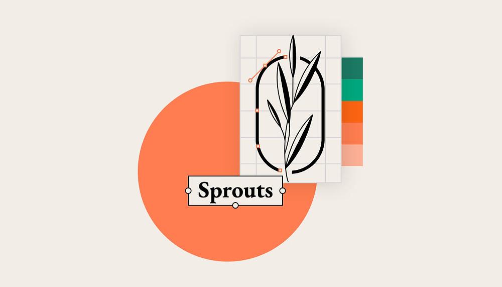 Bild mit einem schönen Logo Design estellt mit Wix