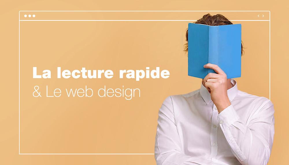 La lecture rapide et le web design