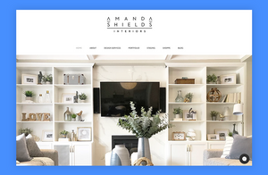 Amanda Shields interior design portfolio