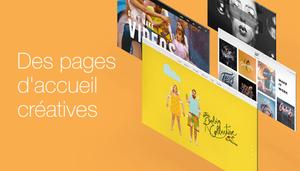 8 sites avec une page d'accueil incroyablement créative