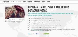 Página de Inicio de Copygr.am