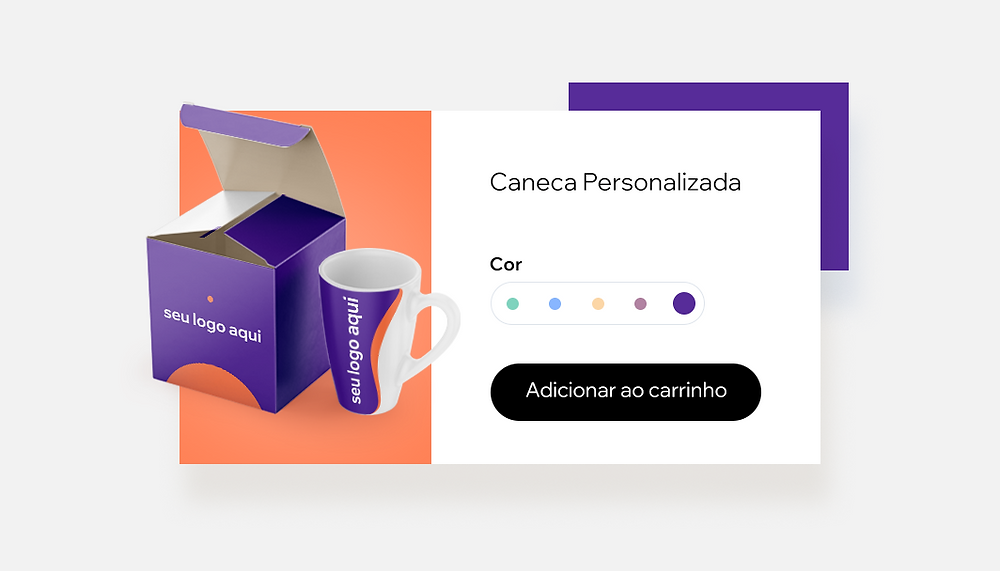 Venda Canecas Personalizadas Utilizando Print on Demand