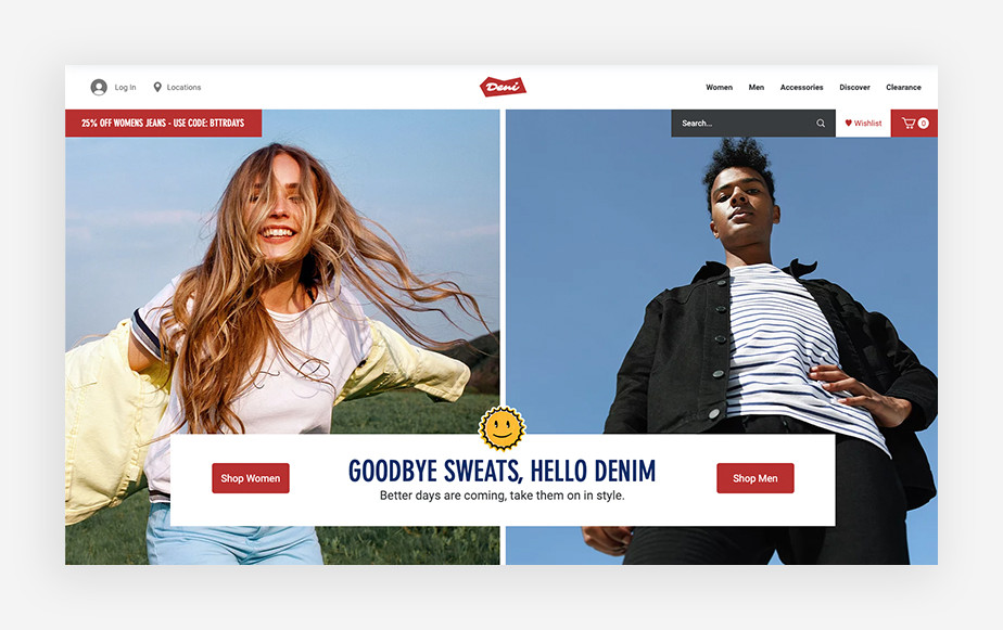 Internetowa strona e-commerce