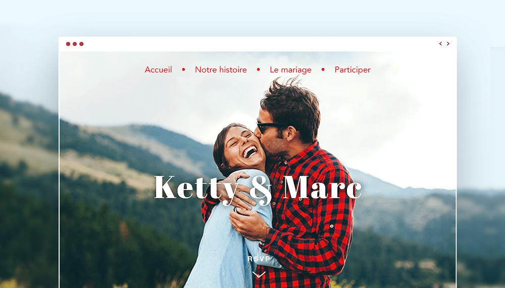 Créez un site de rêve pour votre mariage en 7 étapes