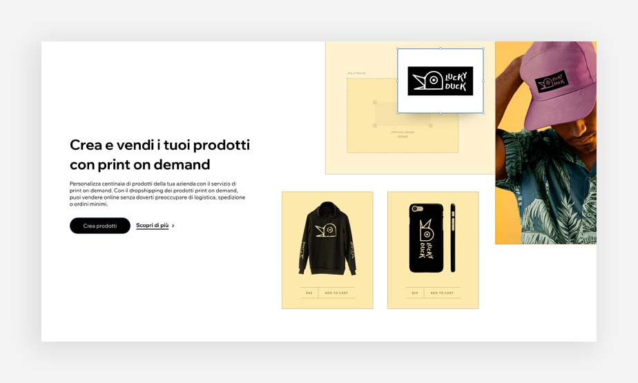 Print on demand esempio