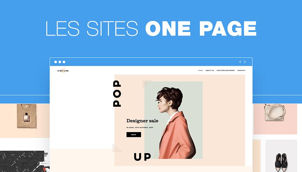 les sites one-page